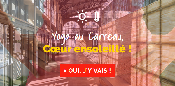 Evénement Yoga estival au Carreau du Temple à Paris le 3 juillet 2016