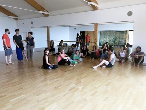 Formation au Yoga par Lina Franco